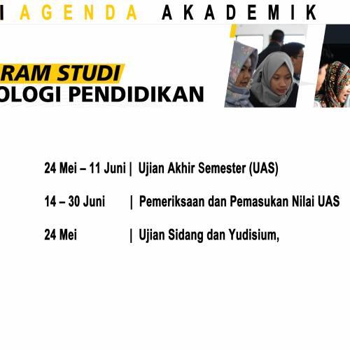 Agenda Akademik Bulan Mei 2021
