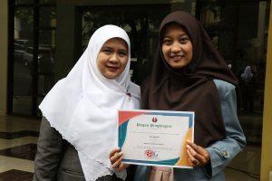 Mahasiswi Teknologi Pendidikan meraih peringkat ke-2 dalam Ajang Mahasiswa Berprestasi tingkat Fakultas Ilmu Pendidikan Tahun 2020