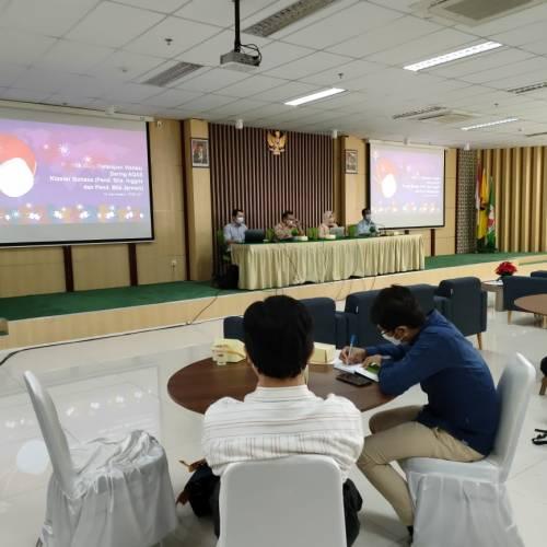 Tim Aqas Program Studi Teknologi Pendidikan Mengikuti Rapat Persiapan Visitasi AQAS & Pengembangan LAB